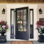Elegant Front Door Decorating Ideas 135