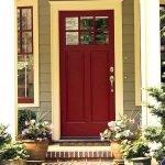 Elegant Front Door Decorating Ideas 136