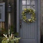 Elegant Front Door Decorating Ideas 142