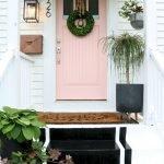 Elegant Front Door Decorating Ideas 143