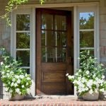 Elegant Front Door Decorating Ideas 154