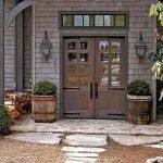 Elegant Front Door Decorating Ideas 159