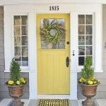 Elegant Front Door Decorating Ideas 161