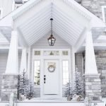 Elegant Front Door Decorating Ideas 163