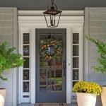 Elegant Front Door Decorating Ideas 176