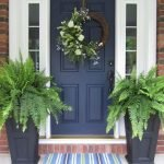 Elegant Front Door Decorating Ideas 186