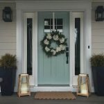 Elegant Front Door Decorating Ideas 197