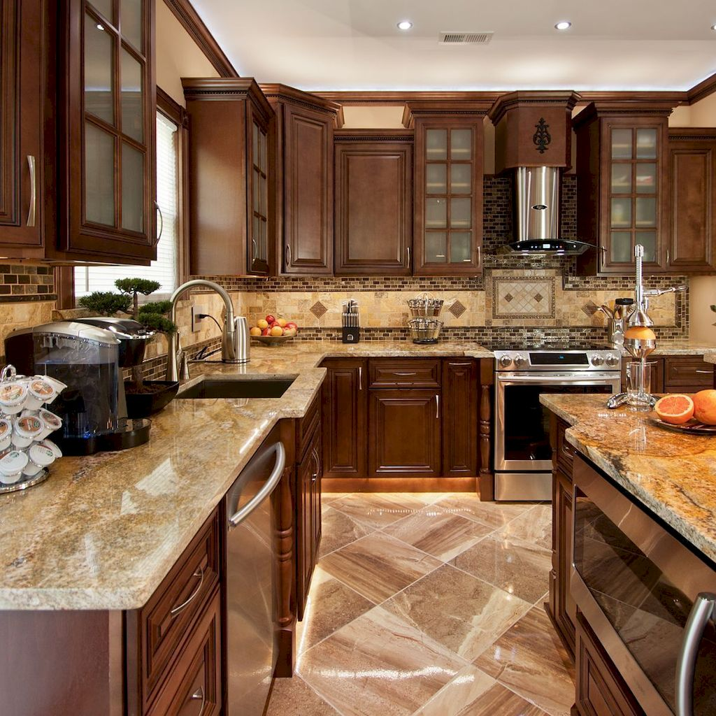 Wood Kitchen Cabinets An Investment to Awesome Kitchen 125
