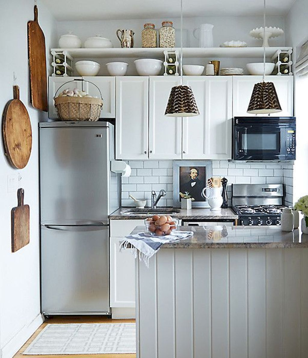 Kitchen Plan And Design For Small Room (124)