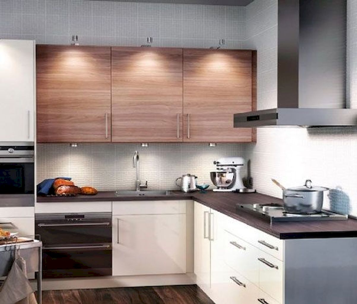 Kitchen Plan And Design For Small Room (52)