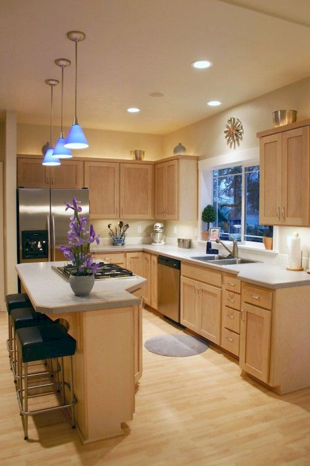 Kitchen Plan And Design For Small Room (99)