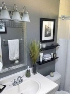 Amazing Small Bathrooms In Small Appartment Ideas 36