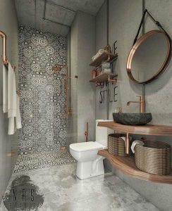 Amazing Small Bathrooms In Small Appartment Ideas 108