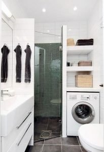 Amazing Small Bathrooms In Small Appartment Ideas 117