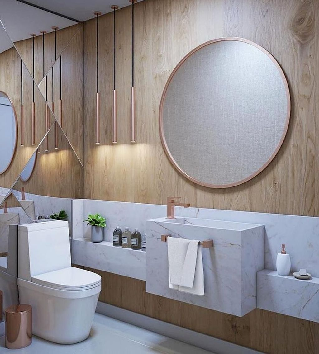 Space Saving Toilet Design for Small Bathroom 93