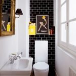 Space Saving Toilet Design for Small Bathroom 97