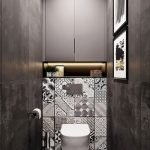 Space Saving Toilet Design for Small Bathroom 108