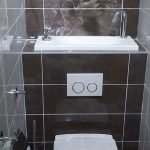 Space Saving Toilet Design for Small Bathroom 115