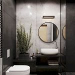 Space Saving Toilet Design for Small Bathroom 124