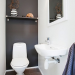 Space Saving Toilet Design for Small Bathroom 125