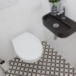 Space Saving Toilet Design for Small Bathroom 133
