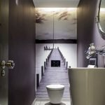 Space Saving Toilet Design for Small Bathroom 160