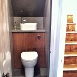 Space Saving Toilet Design for Small Bathroom 170