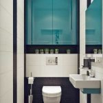 Space Saving Toilet Design for Small Bathroom 184