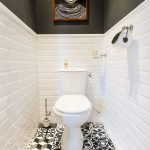 Space Saving Toilet Design for Small Bathroom 191