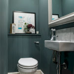 Space Saving Toilet Design for Small Bathroom 21