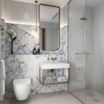 Space Saving Toilet Design for Small Bathroom 23