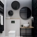 Space Saving Toilet Design for Small Bathroom 24