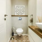 Space Saving Toilet Design for Small Bathroom 29