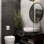 Space Saving Toilet Design for Small Bathroom 40