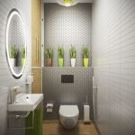 Space Saving Toilet Design for Small Bathroom 54