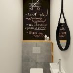 Space Saving Toilet Design for Small Bathroom 55