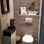 Space Saving Toilet Design for Small Bathroom 65