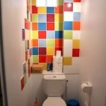 Space Saving Toilet Design for Small Bathroom 68