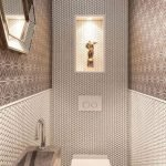 Space Saving Toilet Design for Small Bathroom 74
