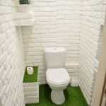 Space Saving Toilet Design for Small Bathroom 91