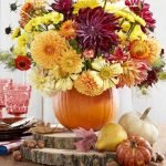 Add Warmth to Your Gathering Thanksgiving Decoration 124