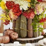Add Warmth to Your Gathering Thanksgiving Decoration 125