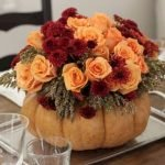 Add Warmth to Your Gathering Thanksgiving Decoration 148