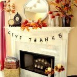 Add Warmth to Your Gathering Thanksgiving Decoration 84