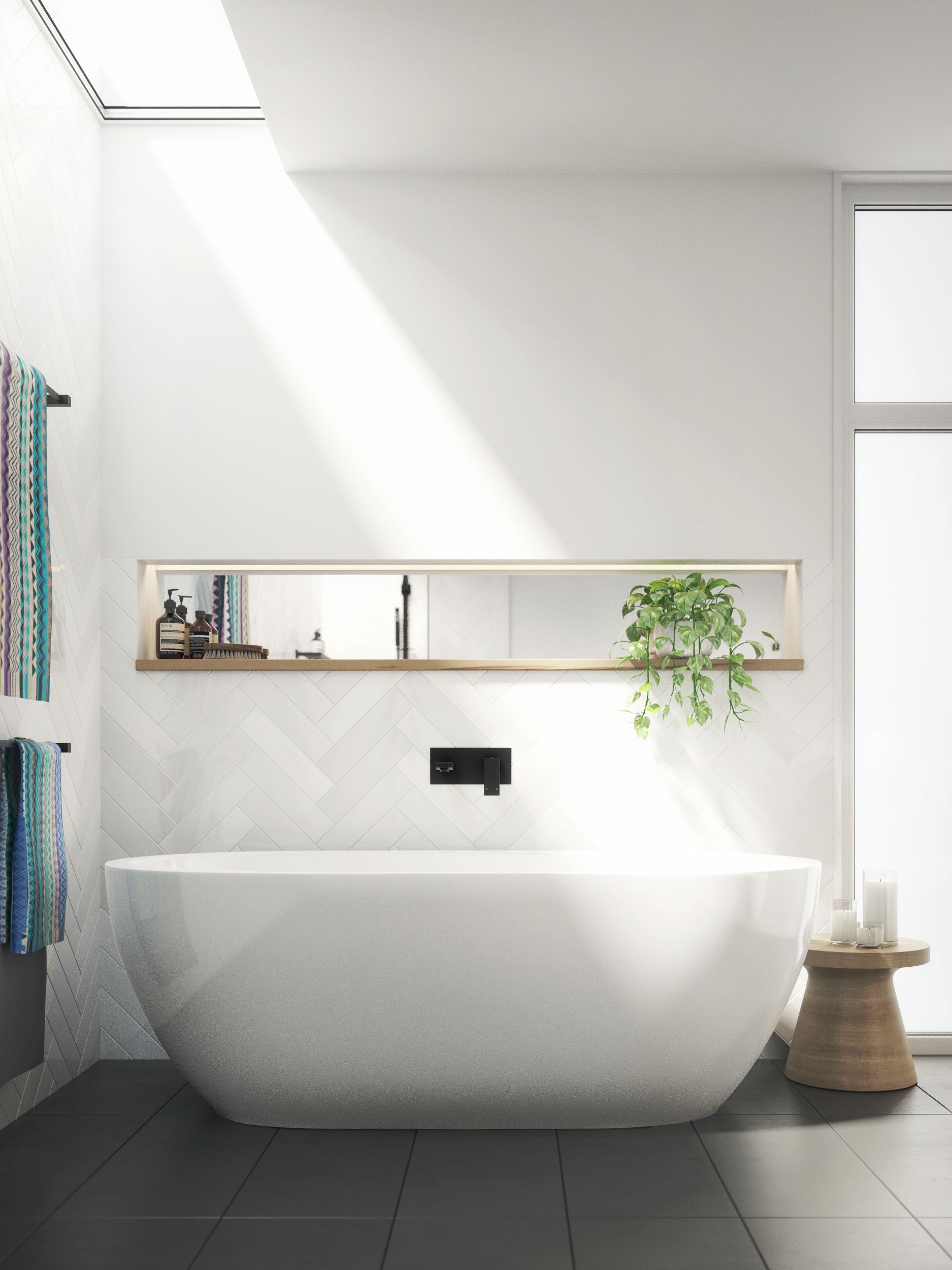 White Bathroom130