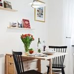 Design Space Saving Dining Room For Your Apartment 68