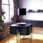 Design Space Saving Dining Room For Your Apartment 112