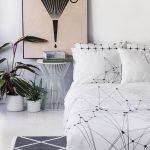 Black and White Bedding Sets For Your Dramatic Bedroom 4