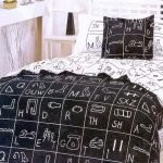 Black and White Bedding Sets For Your Dramatic Bedroom 12
