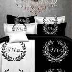 Black and White Bedding Sets For Your Dramatic Bedroom 24